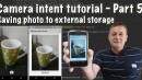 Save Photo to Storage Part 5