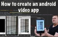 Create android video app