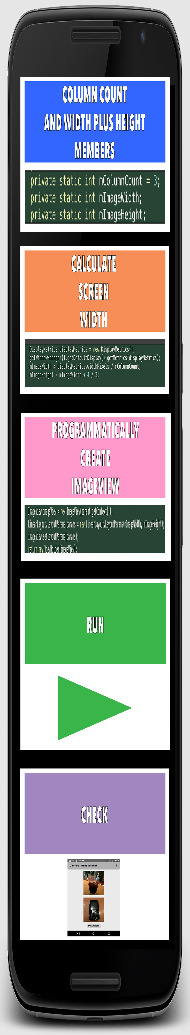 How to create an android gallery app using recyclerview part 5.