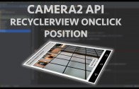 android camera2 api recyclerview onclick
