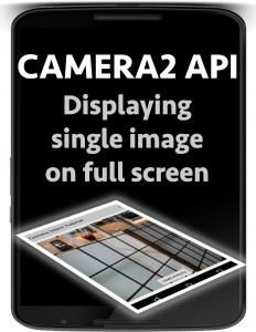 android camera2 api single image