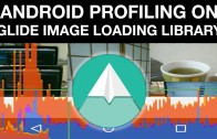 Profiling android glide loader library