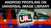Profiling universal image loader library