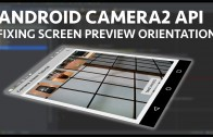 Android camera2 api preview orientation
