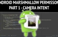 Camera-intent to android marshmallow