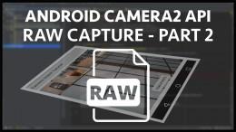 Android Camera2 API Raw Capture