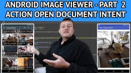 Android Image Viewer Action Open Document