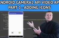 Android video app adding icons