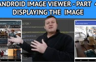 Android Image Viewer Displaying the Image