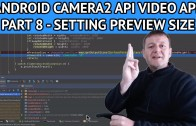 Android video app setting preview size
