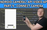 Android video app connect camera device