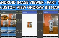 Android image viewer onDraw bitmap