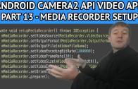 android video app still capture recording
