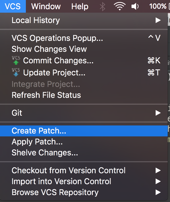 android studio create patch