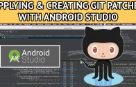 android studio git creating applying patches