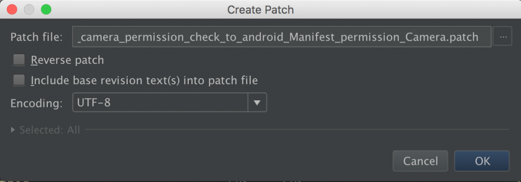 android studio patch file name
