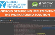 android studio debugging workaround fix