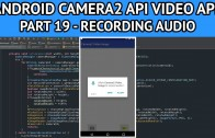 android video app recording audio