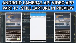 android video app still capture session