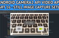 android video app still image setup