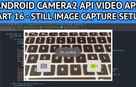 android video app still image setup